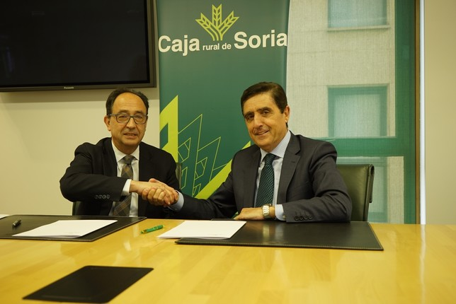 Acuerdo entre Caja Rural y el Numantino