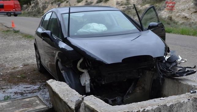 Fallece un vecino de Valtierra tras chocar con su vehículo