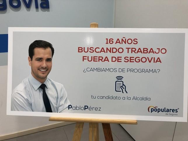 Pablo Pérez invita a los segovianos