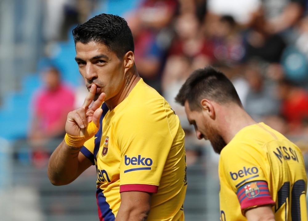 El Eibar sufre el 'tridente' culé