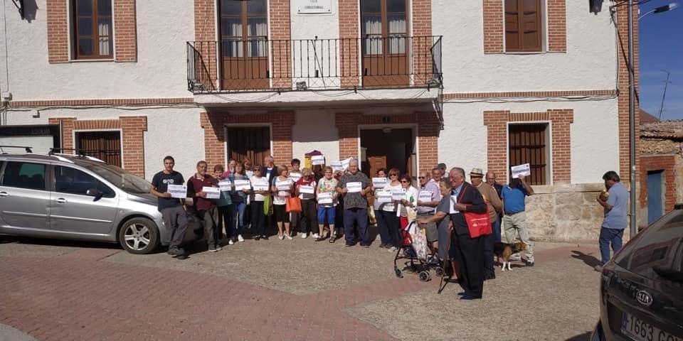 Valladolid se suma al paro de protesta de la España Vaciada