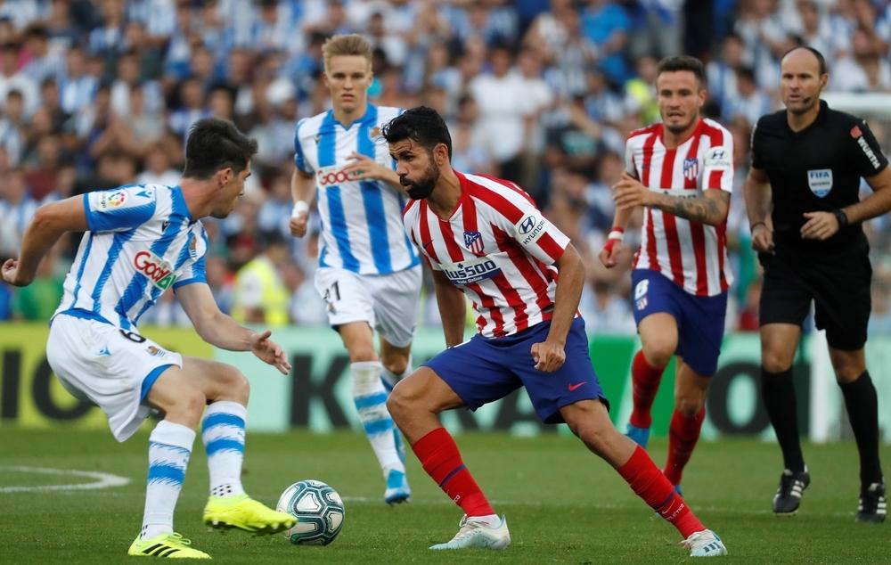 La Real brilla en el nuevo Anoeta ante un Atlético pobre