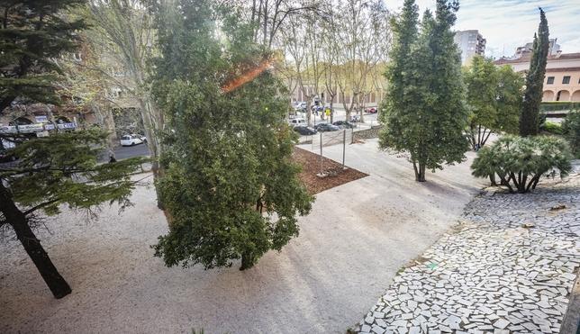 Los nuevos jardines del Hospital Clínico Universitario Jonathan Tajes