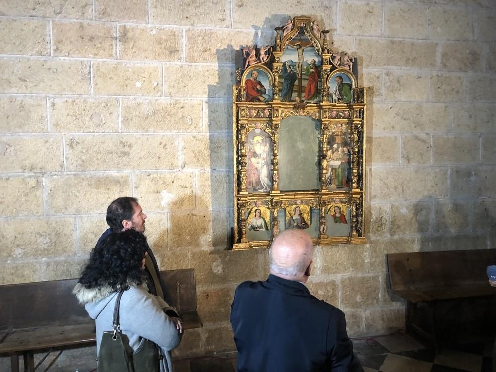 La Catedral restaura tres de sus preciadas obras de arte