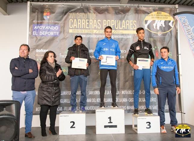 García y Lafuente ganan el cross urbano El Caño de Tarancón David Rodriguez C.