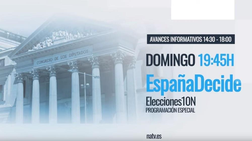 Sigue al detalle la jornada electoral con Navarra Televisión