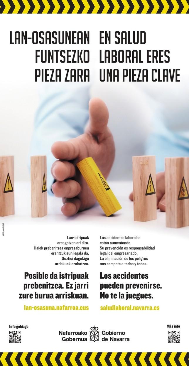 Navarra incrementa la lucha contra la siniestralidad laboral