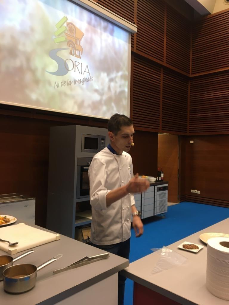 Jóvenes cocineros sorianos en San Sebastián Gastronómika