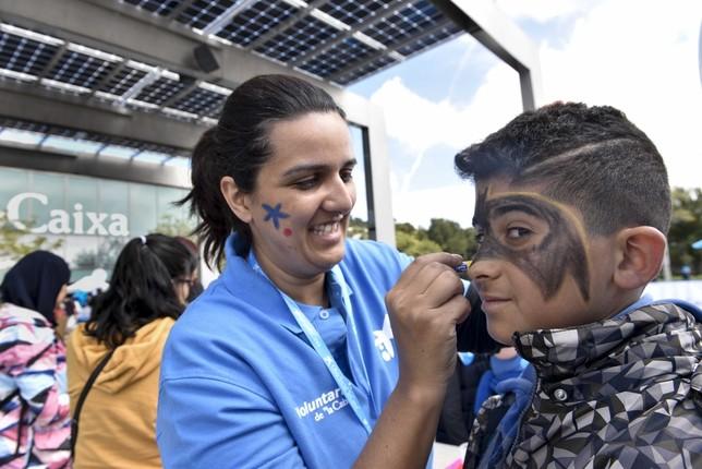 Los voluntarios de 'la Caixa' celebran una jornada lúdica