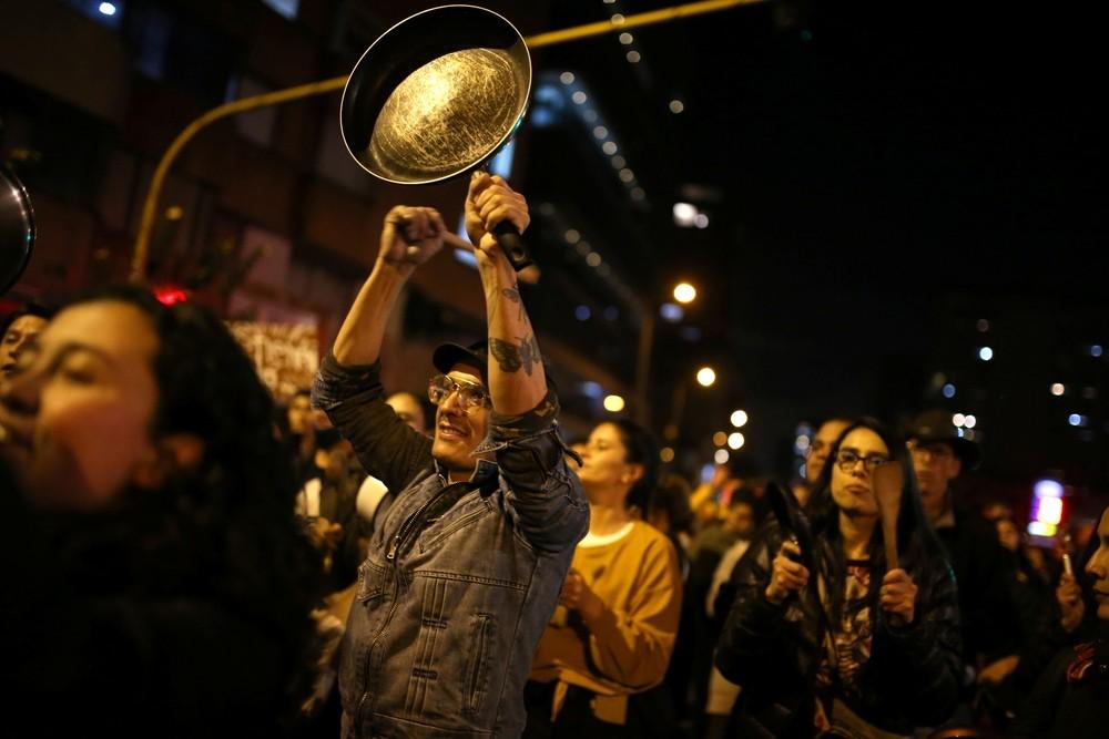 Bogotá vive una jornada de caos