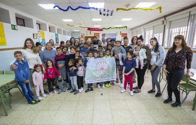Pasos de orgullo del pueblo gitano Tomás Fernández de Moya
