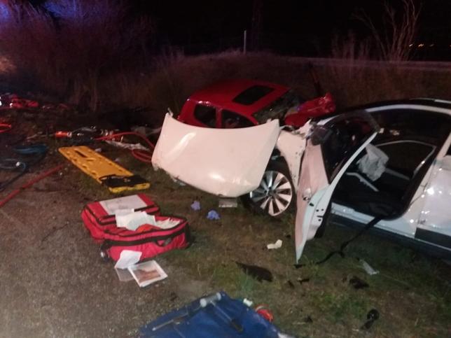 Un muerto tras un accidente en la N-121 a su paso por Olite