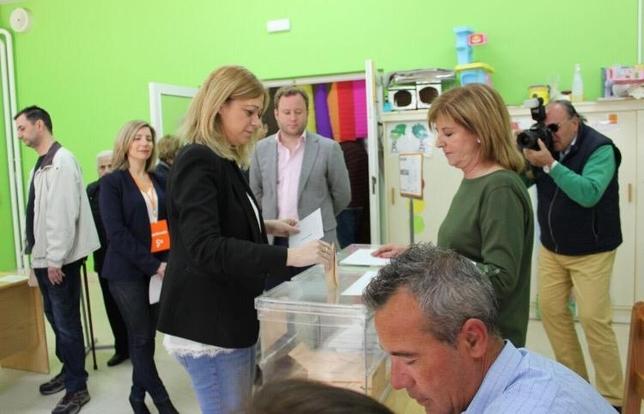 Carmen Picazo, candidata de Cs a la Presidencia de Castilla-La Mancha. Ciudadanos