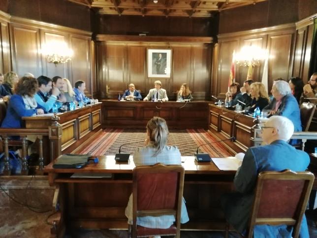 Pleno de despedida en el Ayuntamiento de Soria