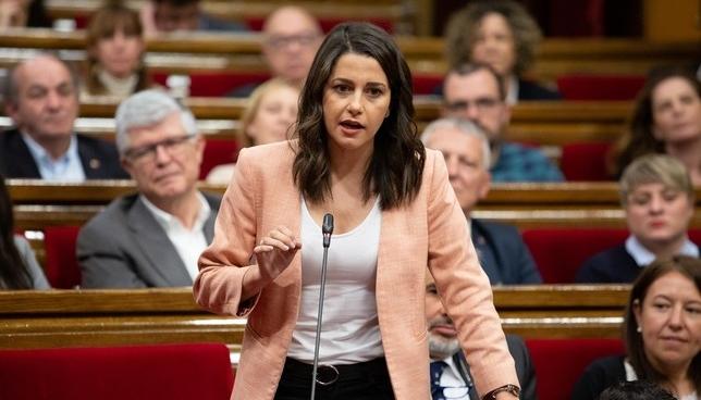 Inés Arrimadas participa este martes en la campaña navarra