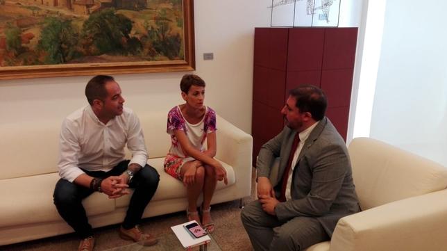 Siguen las consultas: hoy con PSN, Geroa Bai, Podemos e I-E