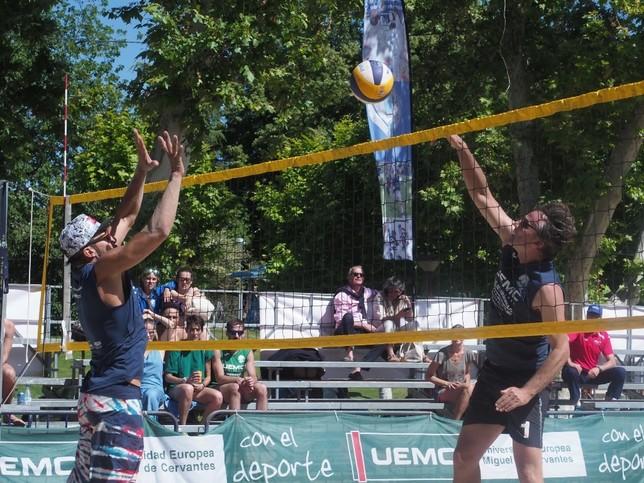 Dominio foráneo en el Torneo de Voley Playa
