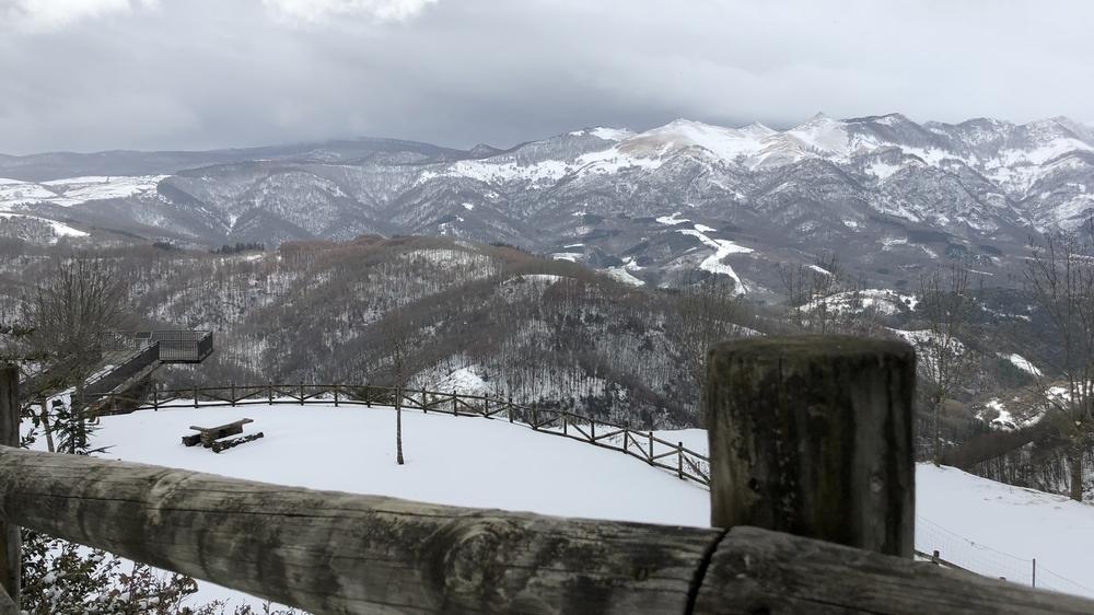 Los termómetros se desploman: en alerta por nieve y viento