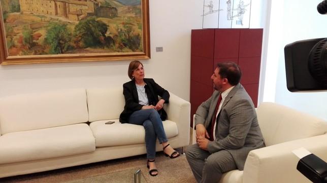 Barkos trabajará en un acuerdo que de estabilidad a Navarra