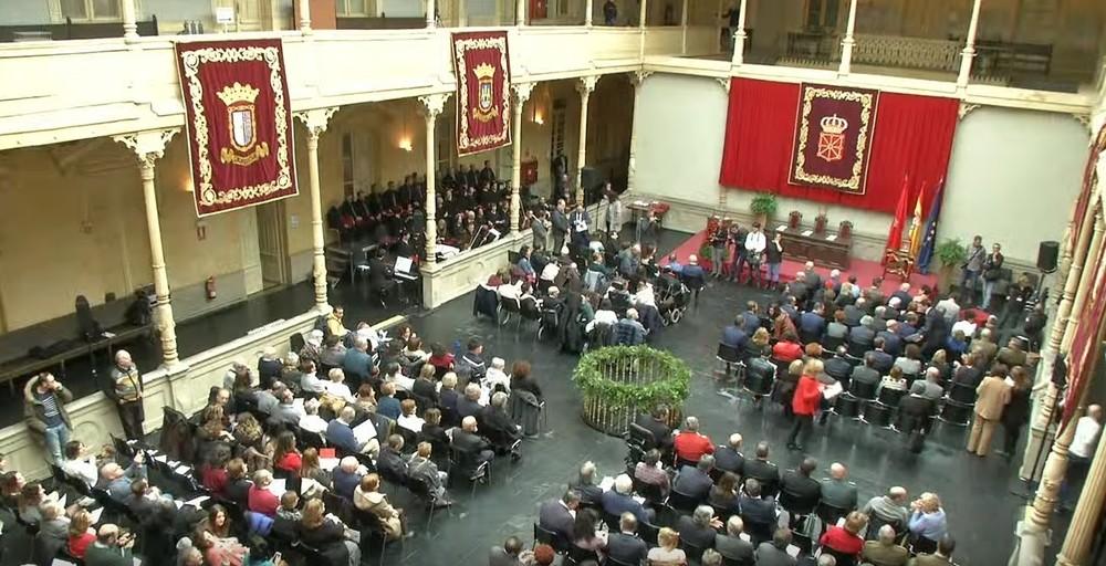 Sigue en directo el acto central del Día de Navarra
