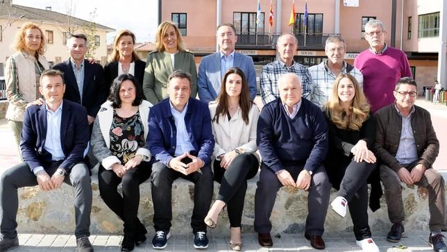 El PP no descarta gobernar en minoría en Palazuelos