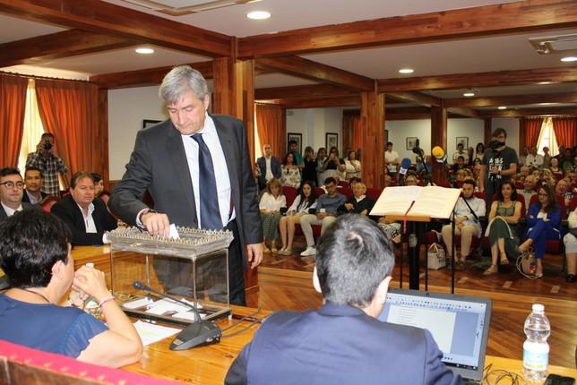 Pleno de investidura sin sorpresas en Tarancón