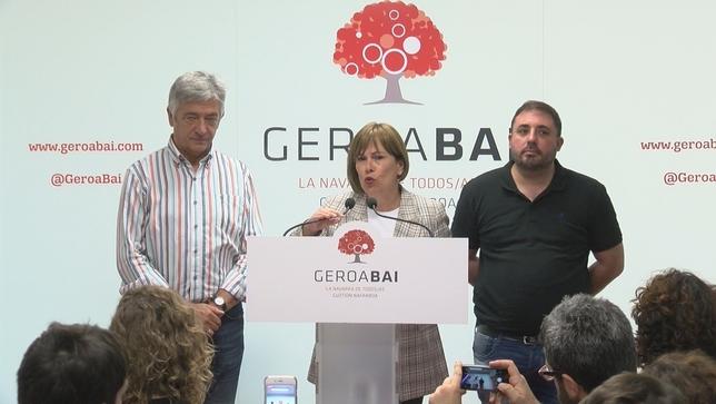 Geroa Bai quiere presidir el Parlamento de Navarra