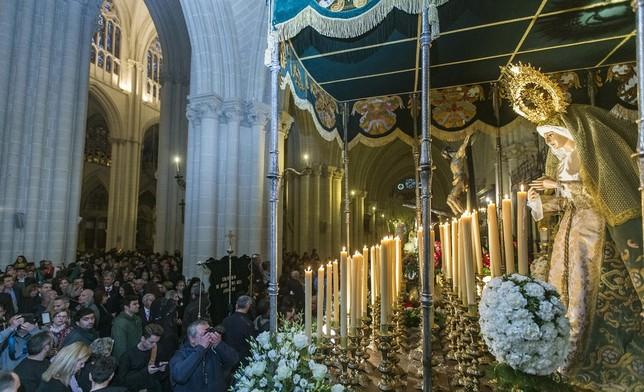 El cielo cancela la procesión con más pasos David Pérez