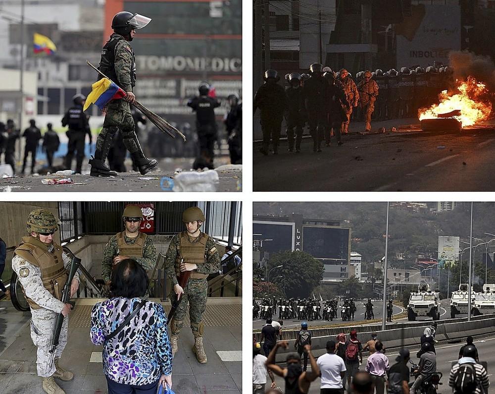 Las botas militares vuelven a pisar la calle