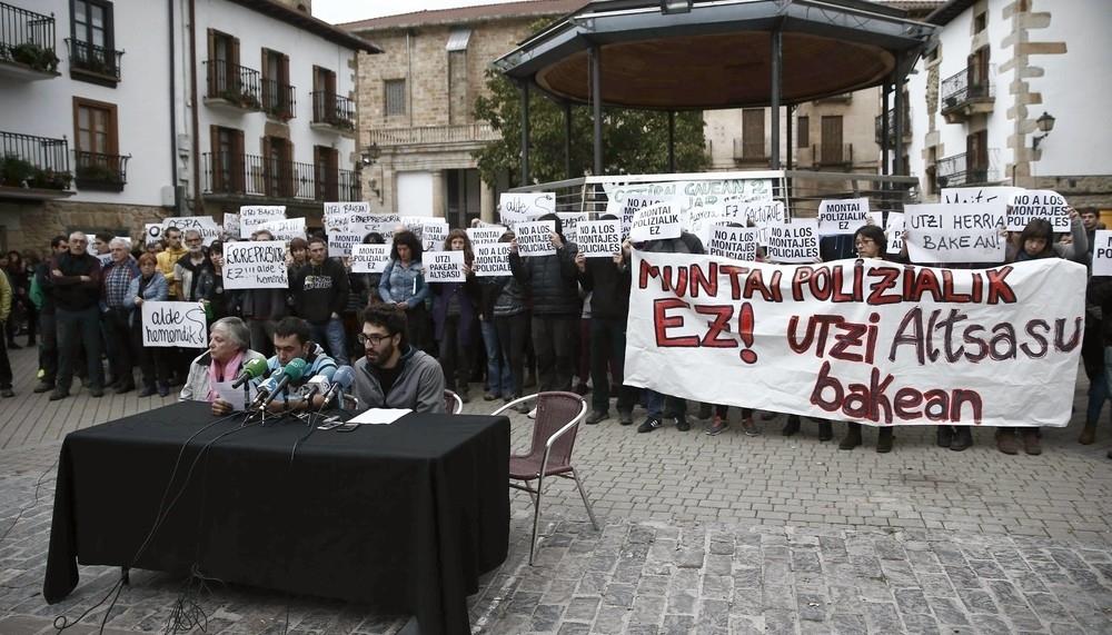 Tercer grado para dos de los jóvenes detenidos de Alsasua