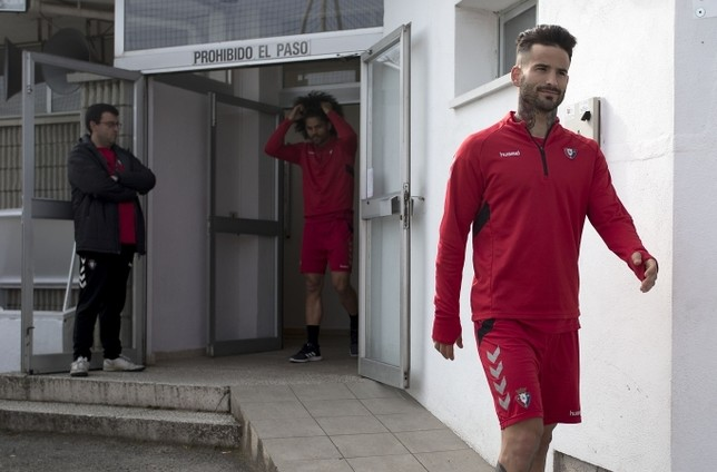 El valenciano ha sido uno de los jugadores más destacados en el ascenso de Osasuna