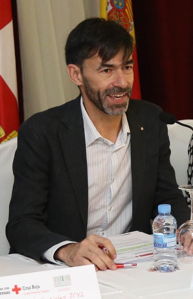 José Luis Montero Montalvillo, delegado especial del comité provincial de Cruz Roja en Segovia durante los últimos cuatro años.