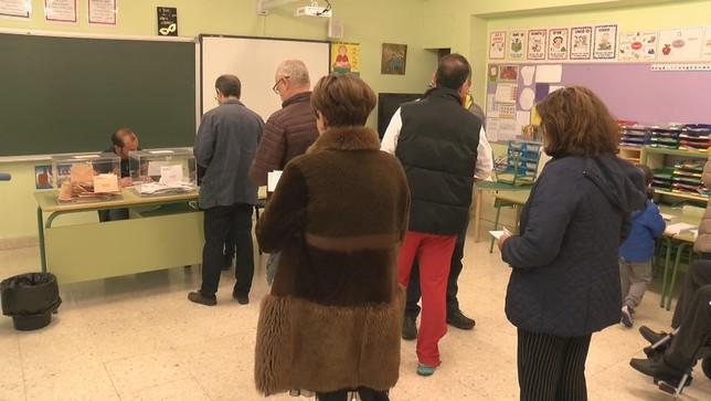 Imagen de un colegio electoral