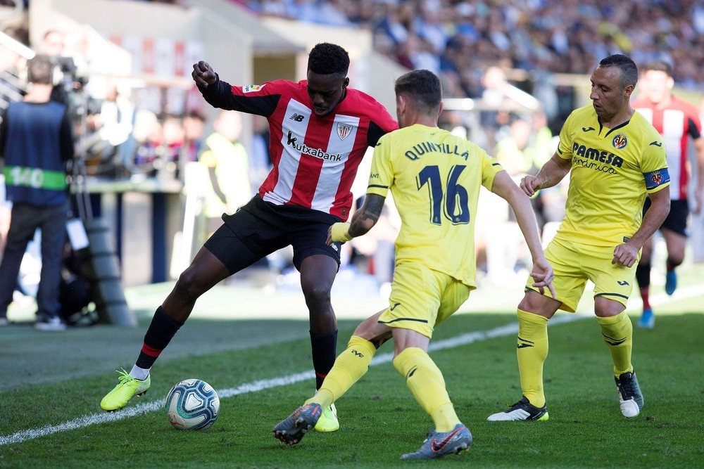 Villarreal y Athletic igualan en un intenso partido
