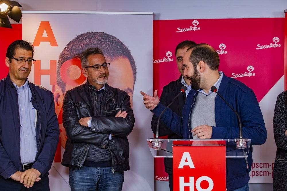 El PSOE pide el voto para defender la provincia