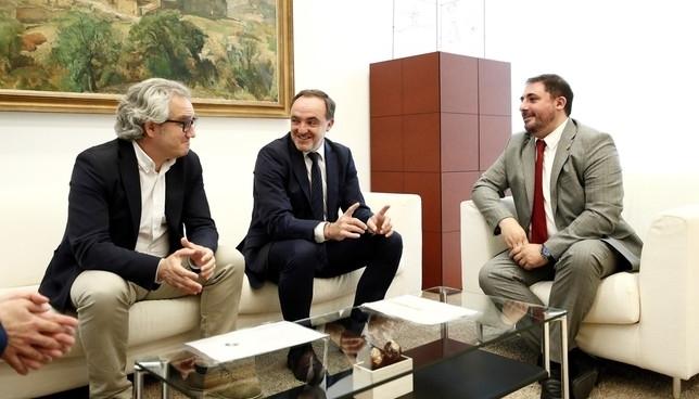 Esparza insiste en llegar a un acuerdo con el PSN
