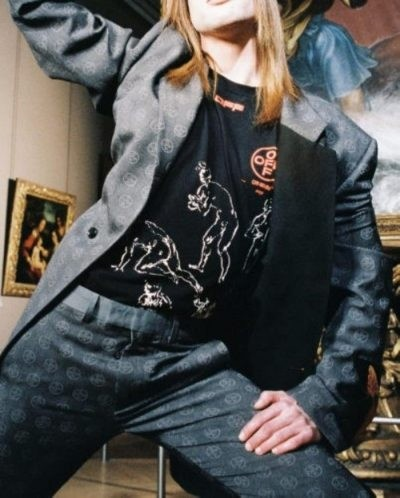 El Louvre lanzan una colección de ropa inspirada en Da Vinci