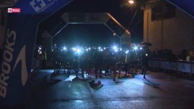 Funes celebró la II carrera de las Luciérnagas de Peñalén
