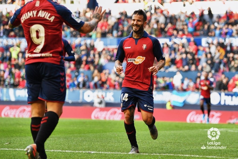 Ruben García abrió el marcador y marcó por tercera jornada consecutiva