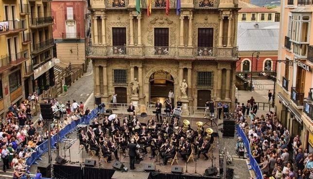 La Pamplonesa ofrece esta tarde un concierto presanferminero