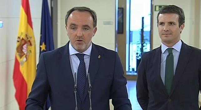 [DIRECTO] Esparza se reúne hoy en Madrid con Rivera y Casado