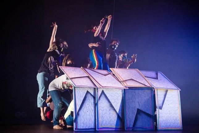 Una coreografía anterior preparada por Mey-Ling Bisogno.