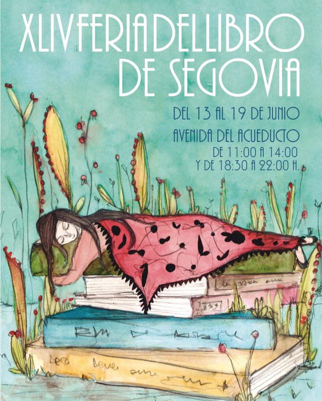 La Feria del Libro de Segovia, del 13 al 19 de junio