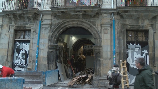 Desmantelan el 'Gaztetxe Maravillas'