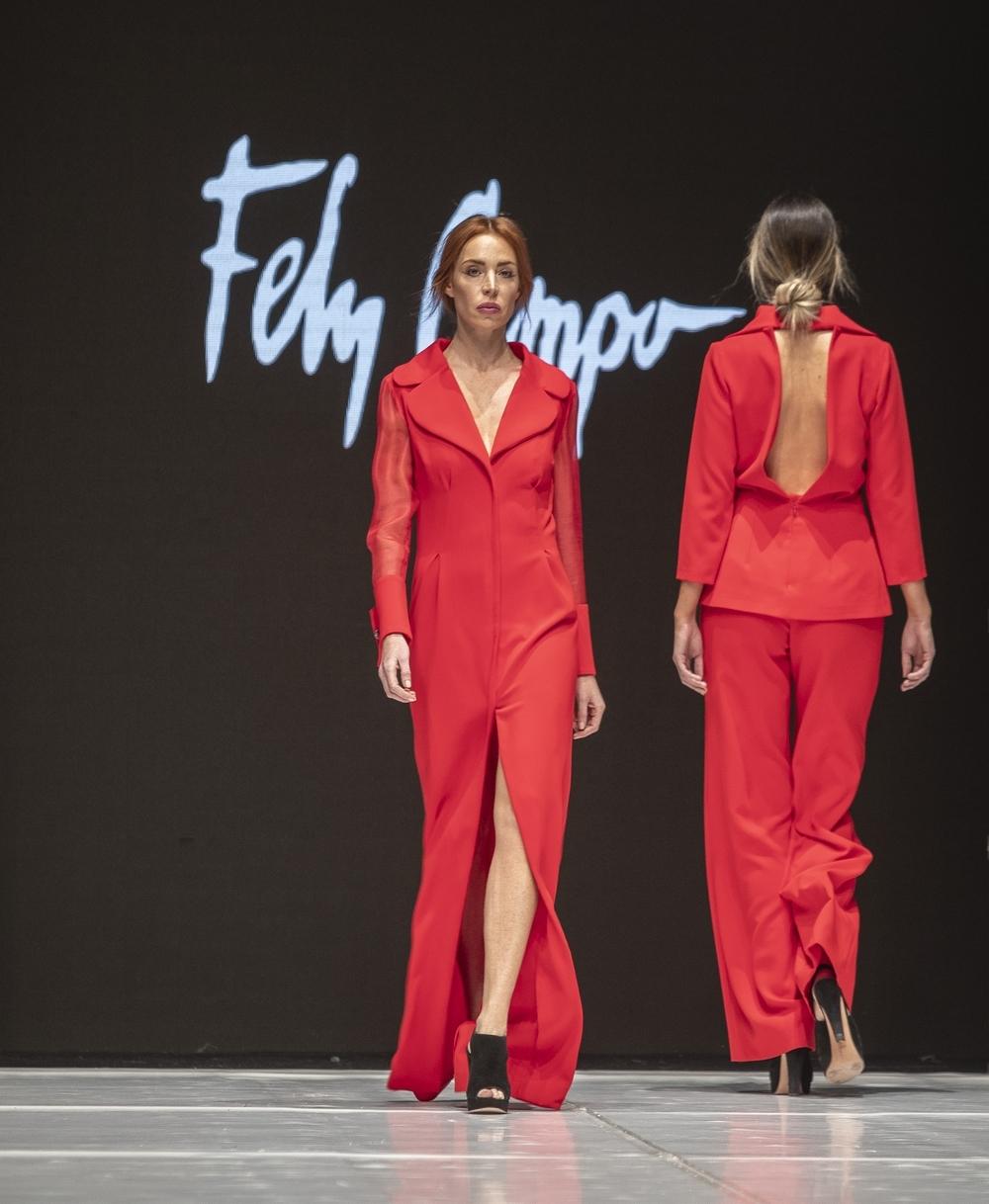 Apuesta por el rojo de Fely Campo.