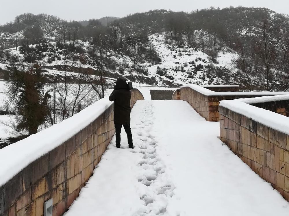 Llega el peor temporal: la cota de nieve baja a 700 metros