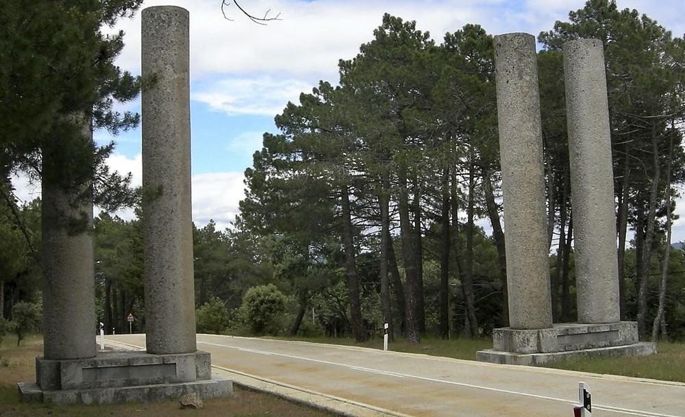 Los centinelas toledanos del Valle de los Caídos