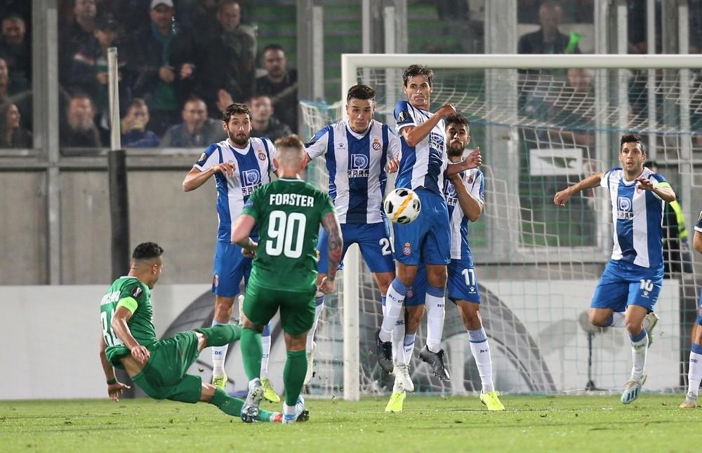 El Espanyol de Machín gana al Ludogorets y es líder de grupo