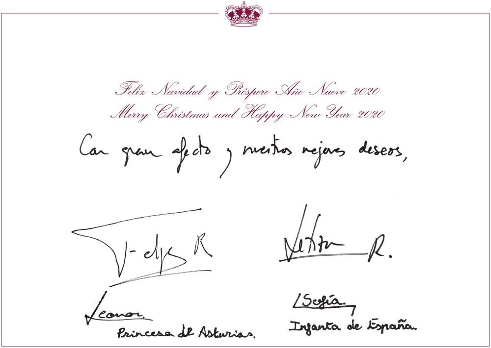 Los Reyes y sus hijas nos felicitan la Navidad desde Asturias