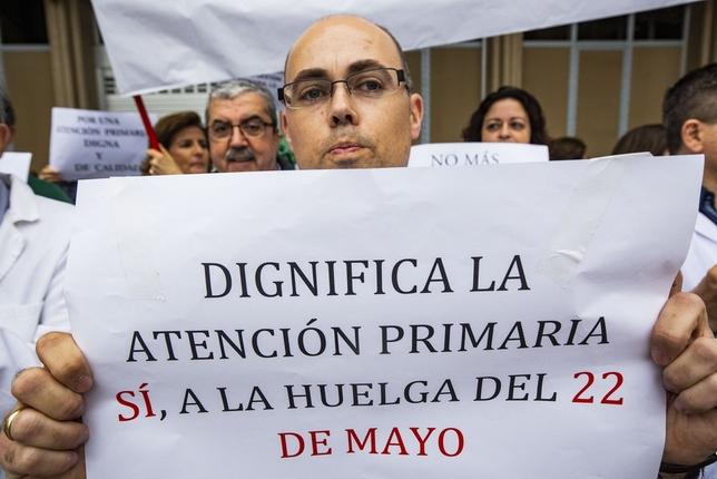 Los médicos avanzan hacia una huelga sanitaria el 22 de mayo Rueda Villaverde